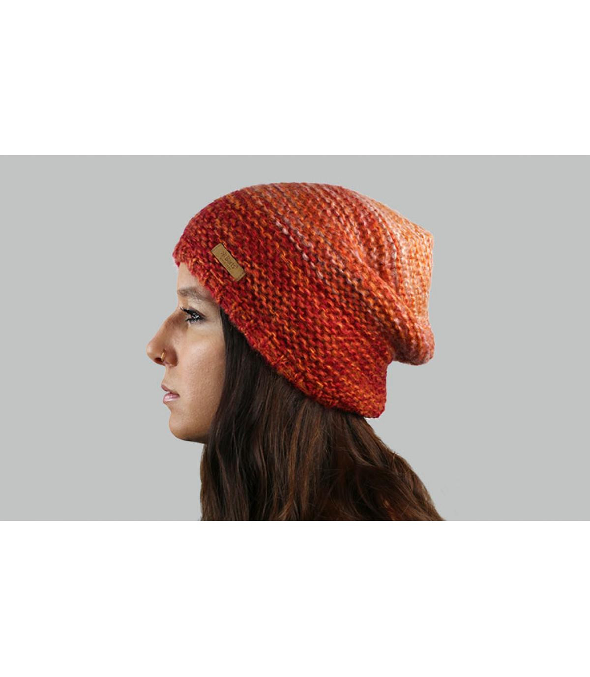 gradiënt oranje hoed