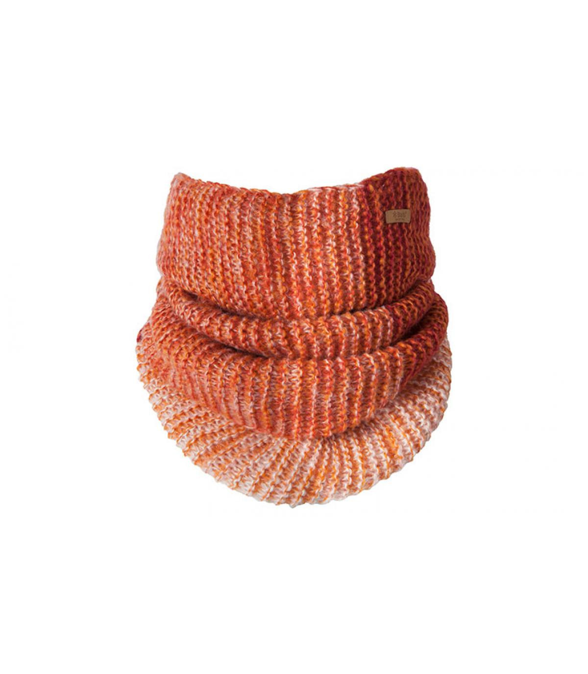 gradiënt oranje haarband