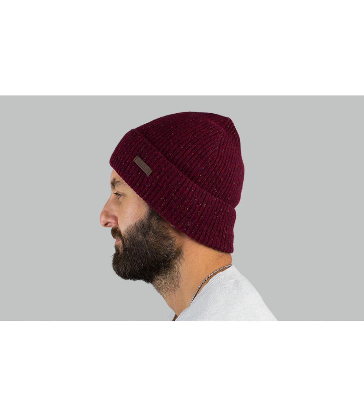 bourgondische omkeerbare hoed