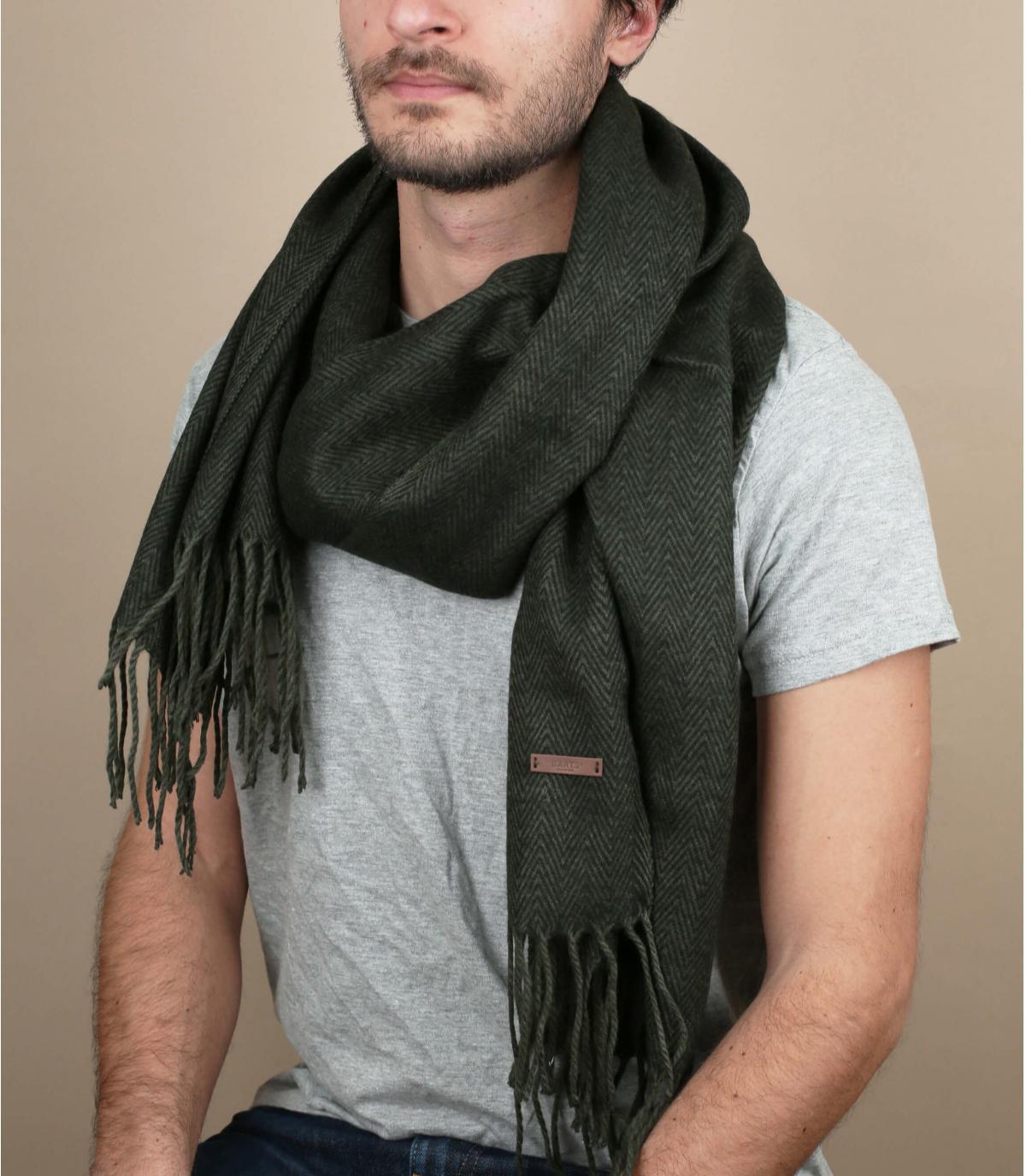 groene rand sjaals