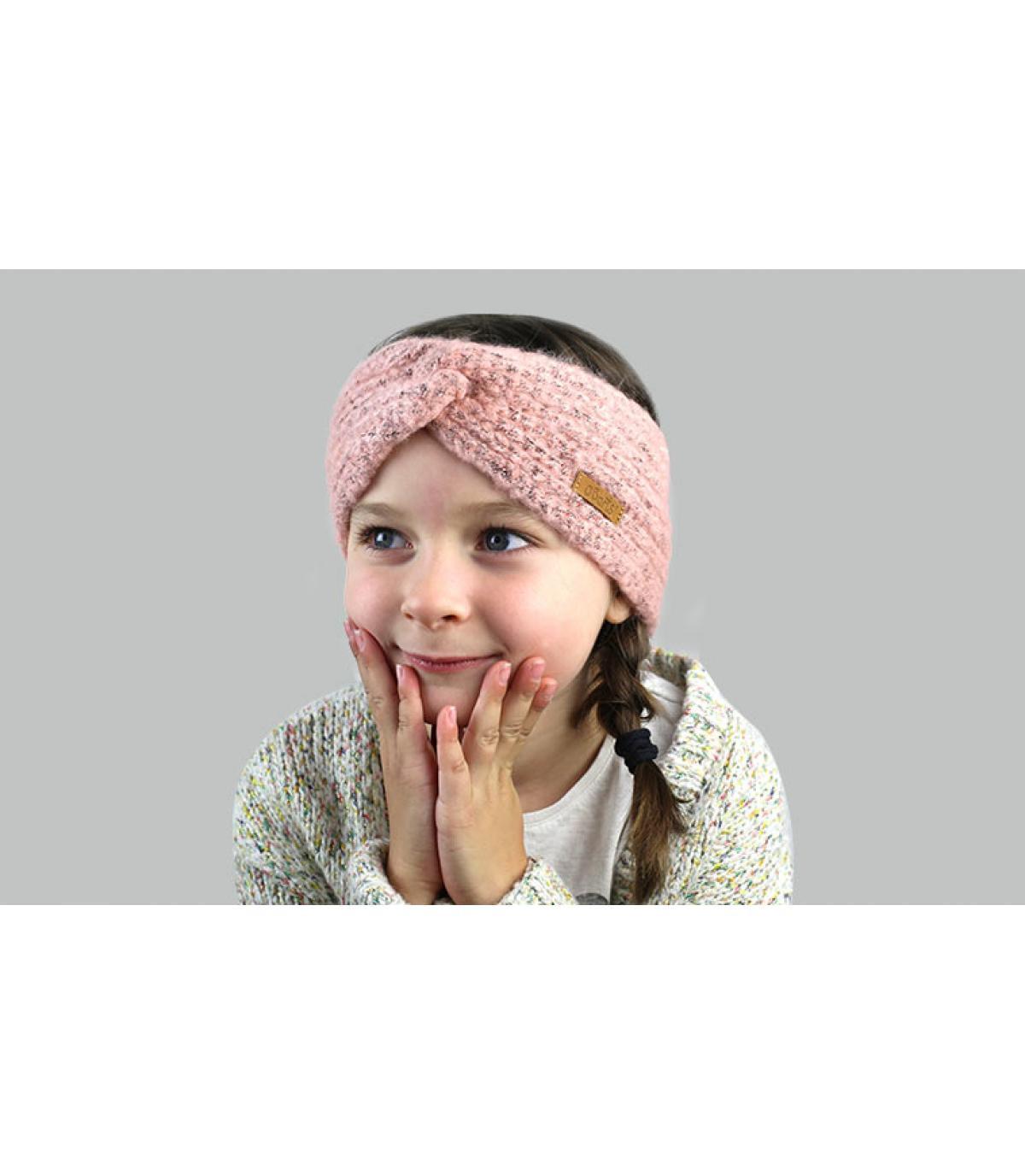 roze kinderhoofdband
