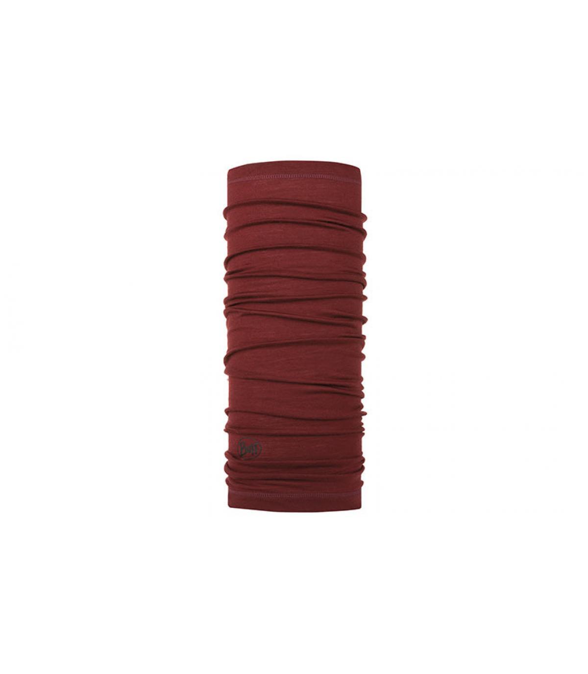 Bordeaux Merino Wool Buff