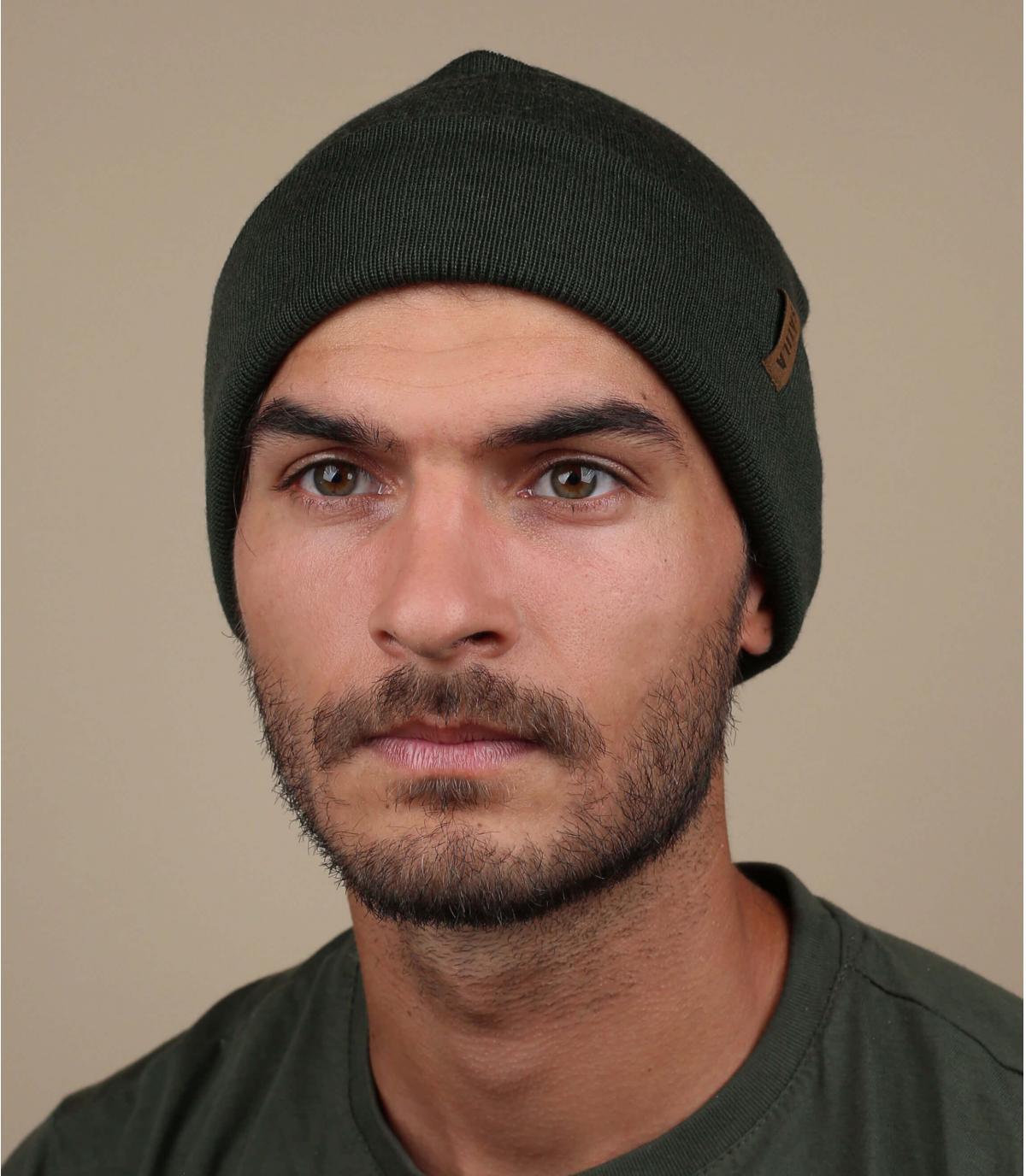 Satila groene lange hoed