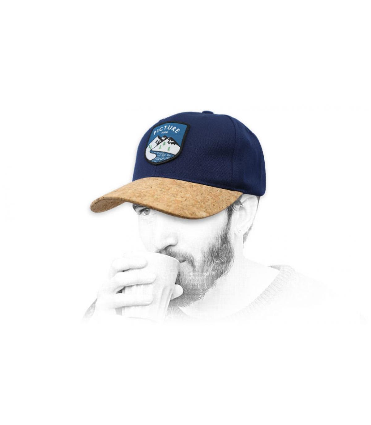 afbeelding dop blauwe kurk