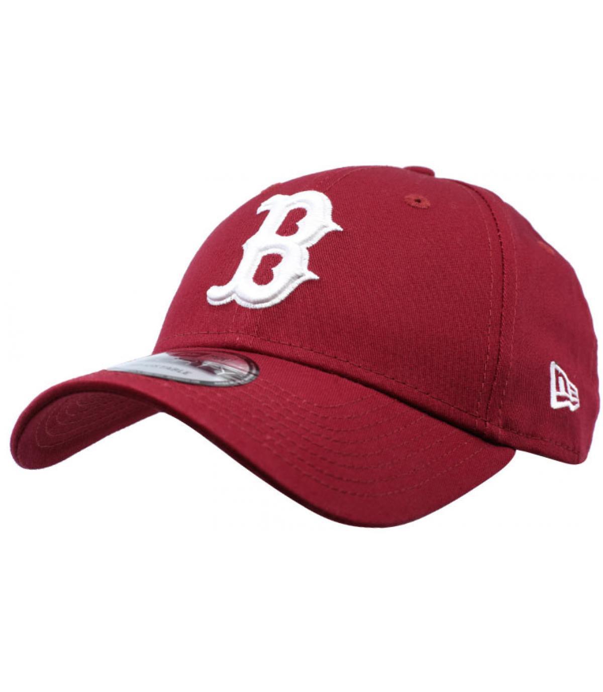 b bordeaux curve cap