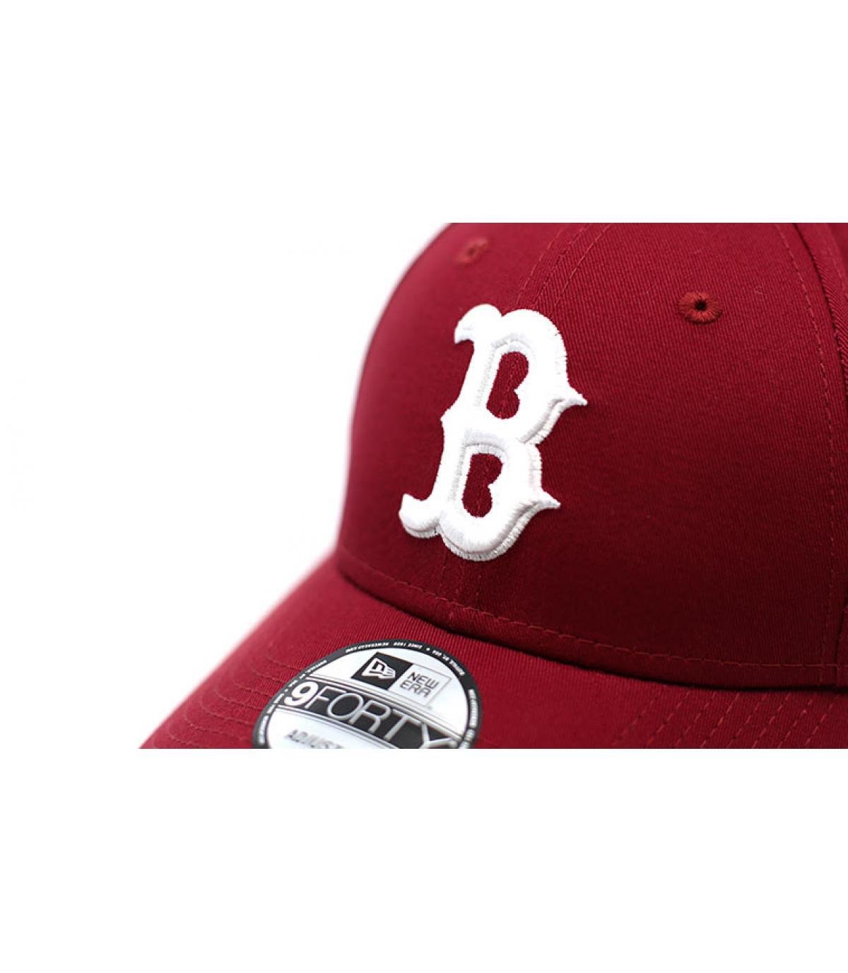 Details League Ess 9Forty Boston cardinal - afbeeling 3