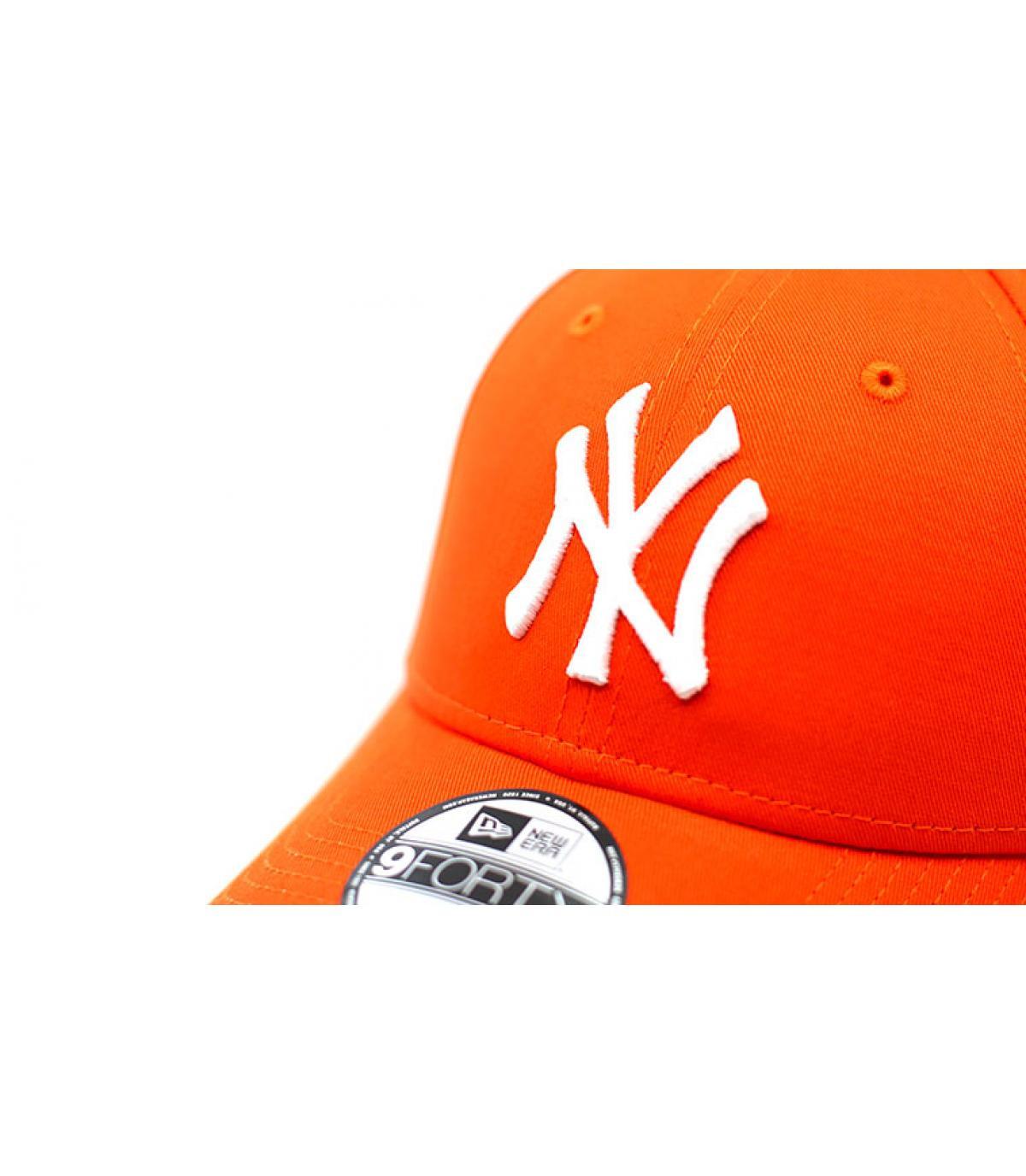 Details League Ess 9Forty NY orange - afbeeling 3