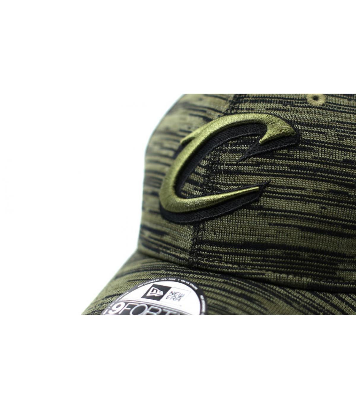Details Engineered Fit Cavaliers 9Forty olive - afbeeling 3