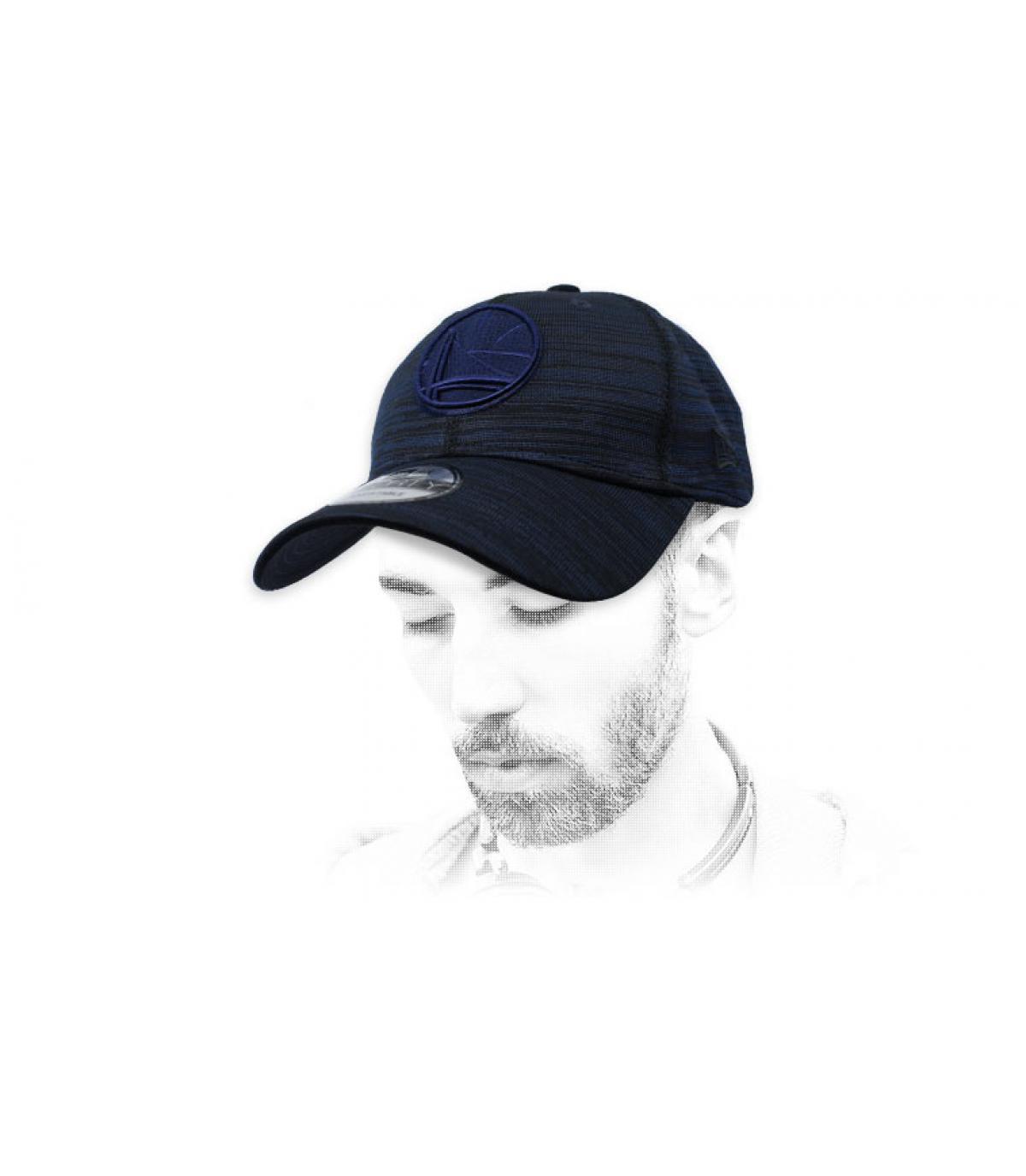 Warriors blauwe hoed