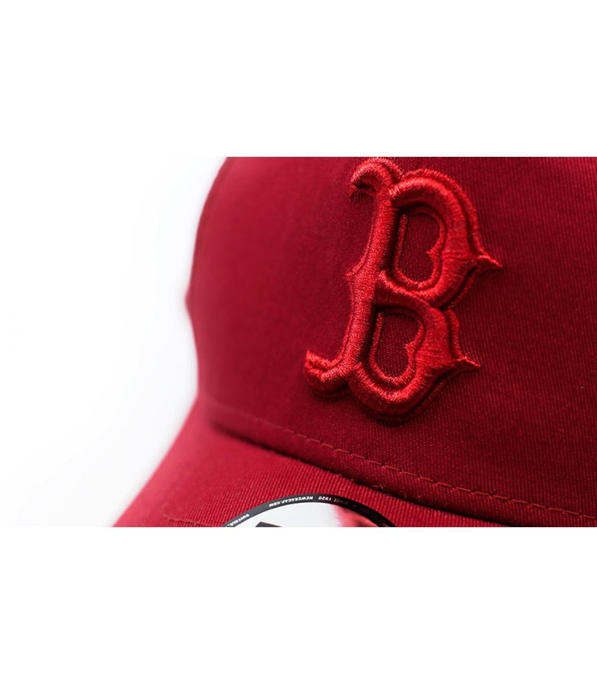 Details League Ess Boston Aframe cardinal - afbeeling 3