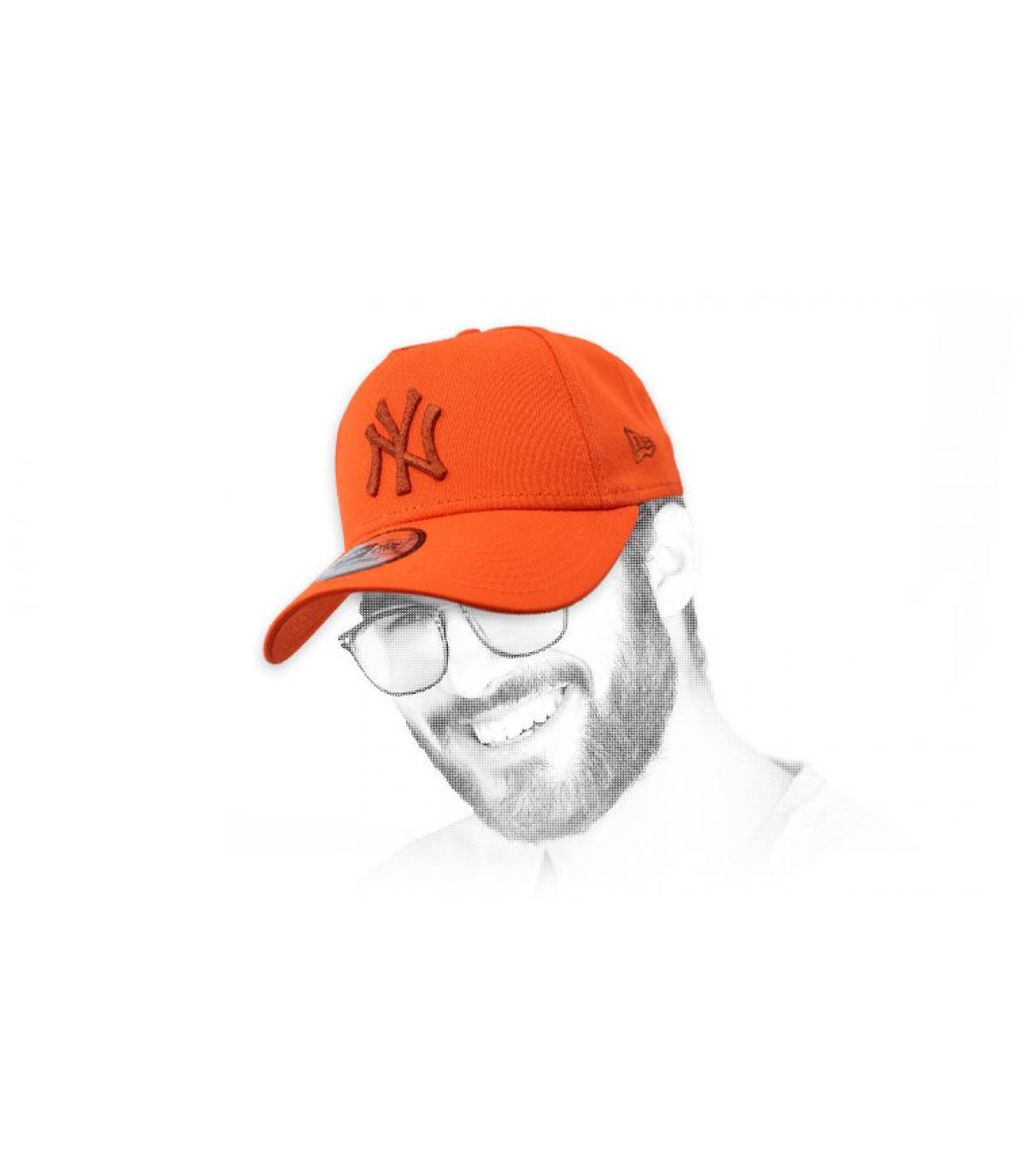 pet NY Oranje Aframe