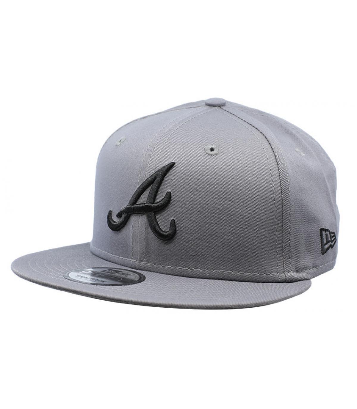 Details League Ess Atlanta 9Fifty gray black - afbeeling 2