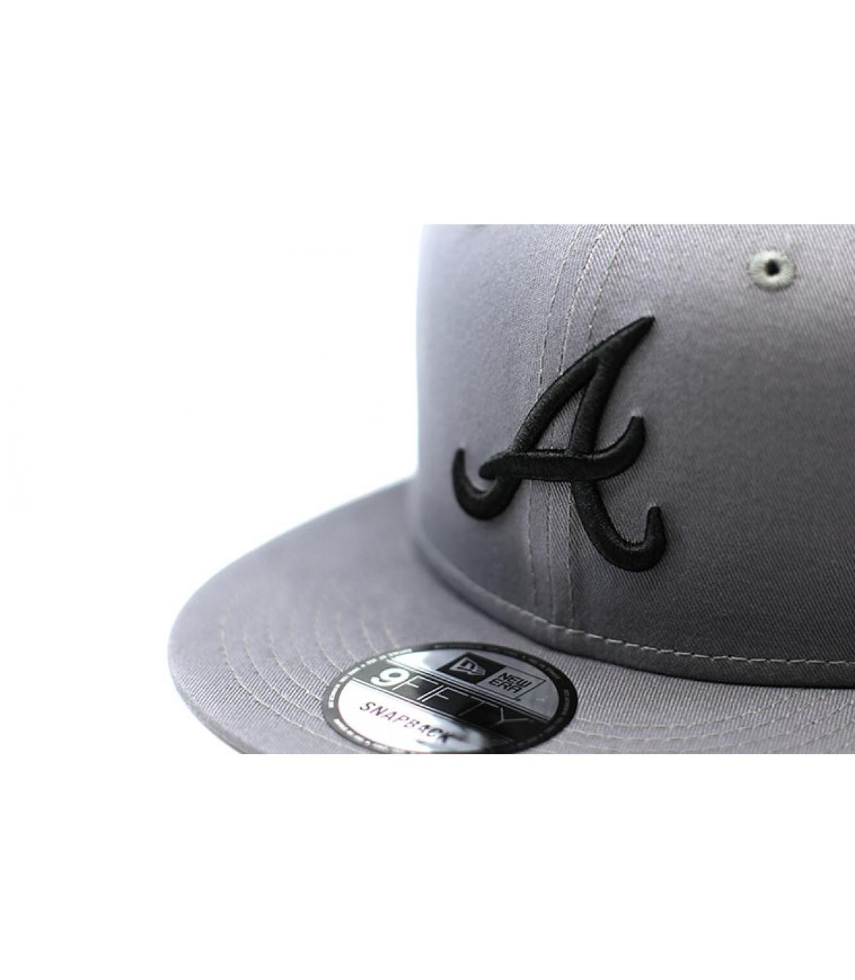 Details League Ess Atlanta 9Fifty gray black - afbeeling 3