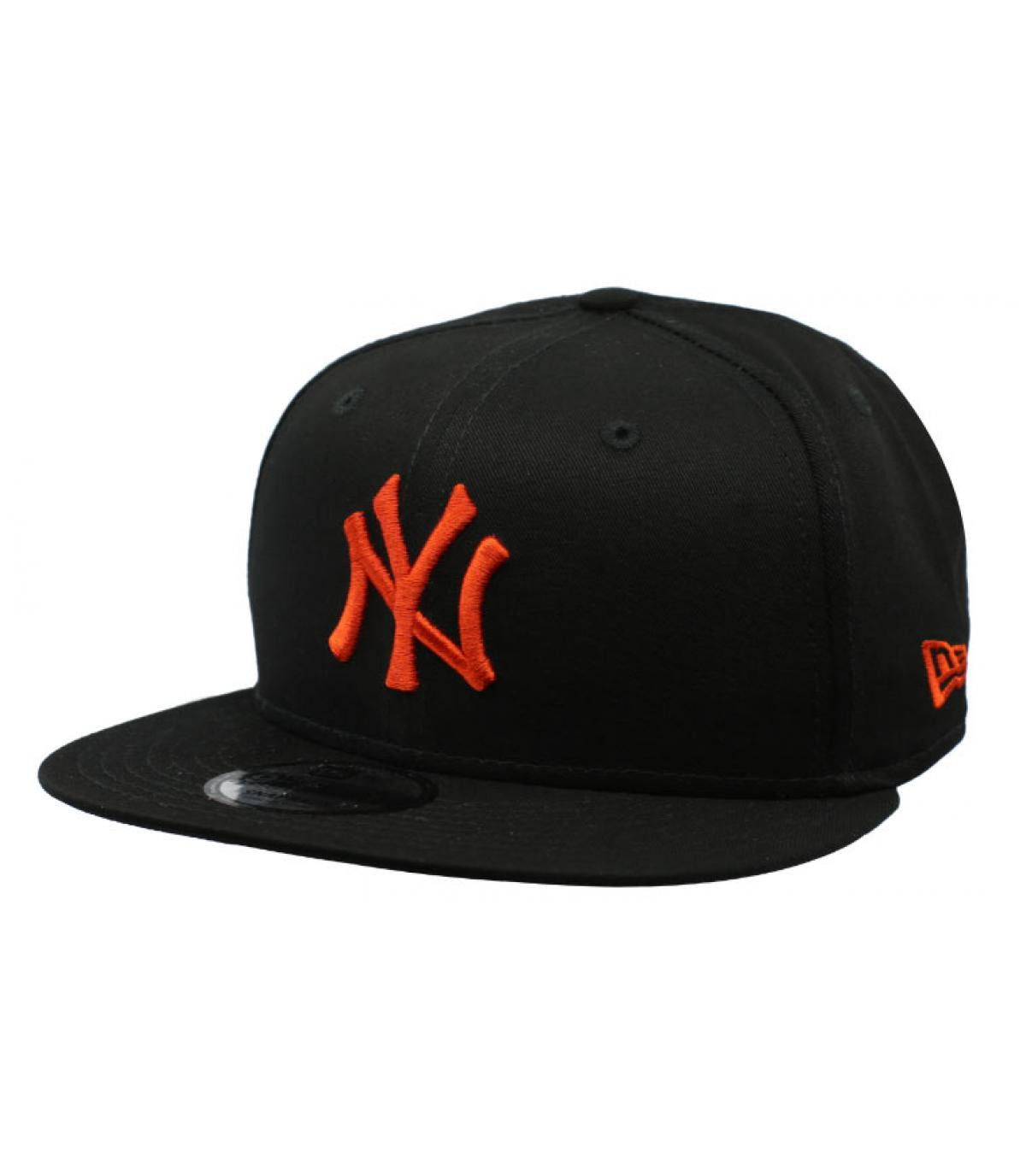Details League Ess NY 9Fifty black orange - afbeeling 2
