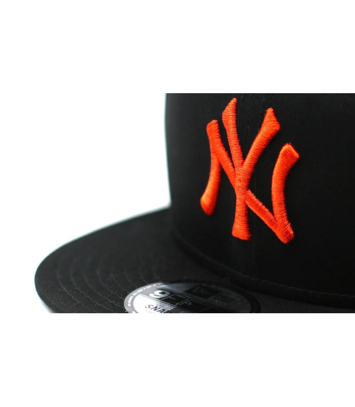 Details League Ess NY 9Fifty black orange - afbeeling 3