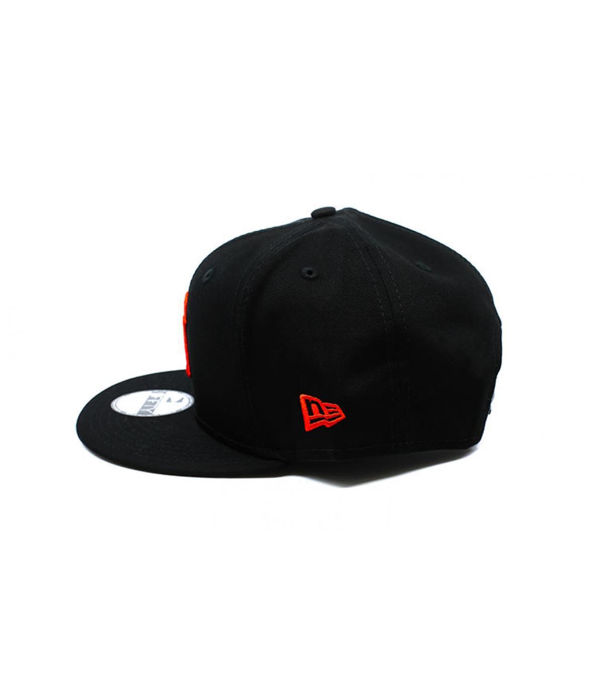 Details League Ess NY 9Fifty black orange - afbeeling 4