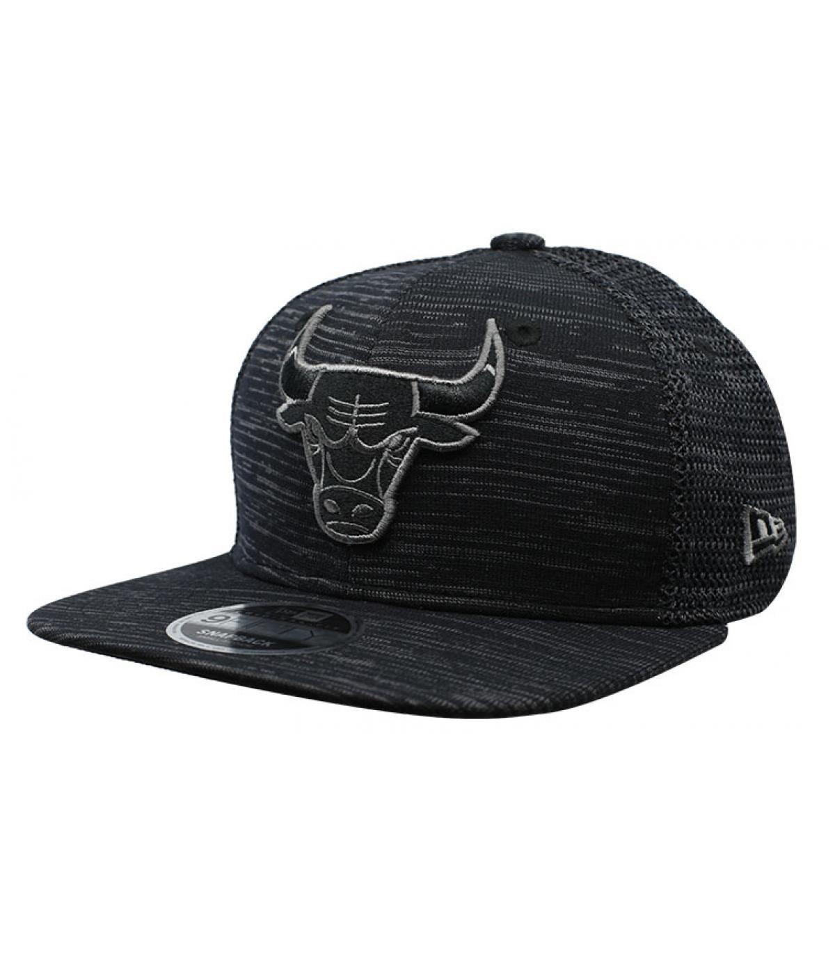 Black Bulls Engineered Snapback