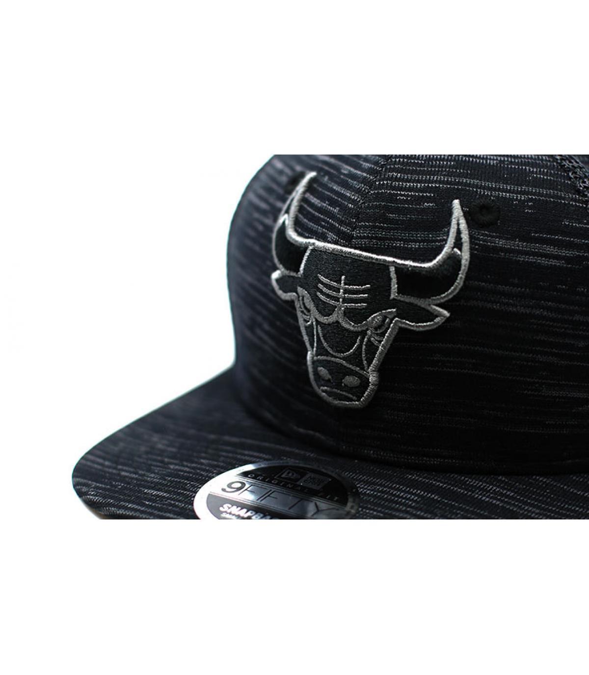 Details Engineered Fit Bulls 9Fifty black - afbeeling 3