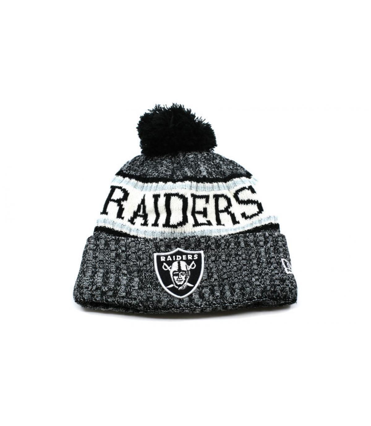 Details NFL Sideline Sport Knit Raiders - afbeeling 2