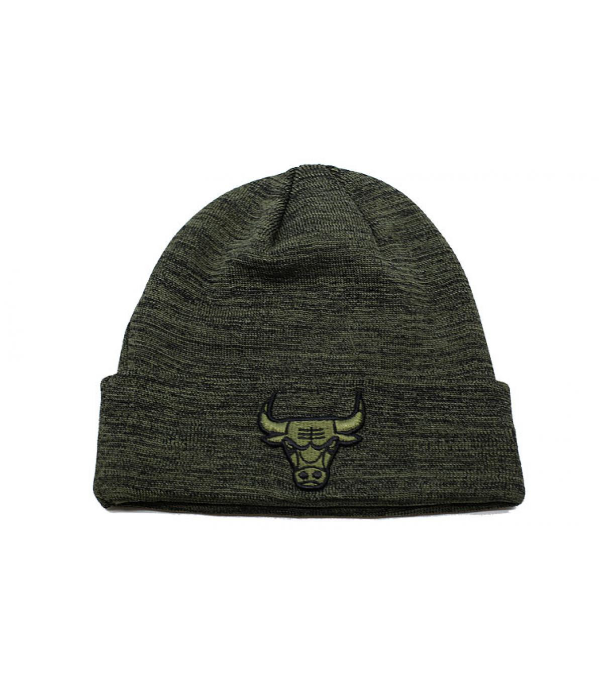 Details Engineered Fit Cuff Knit Bulls olive - afbeeling 2