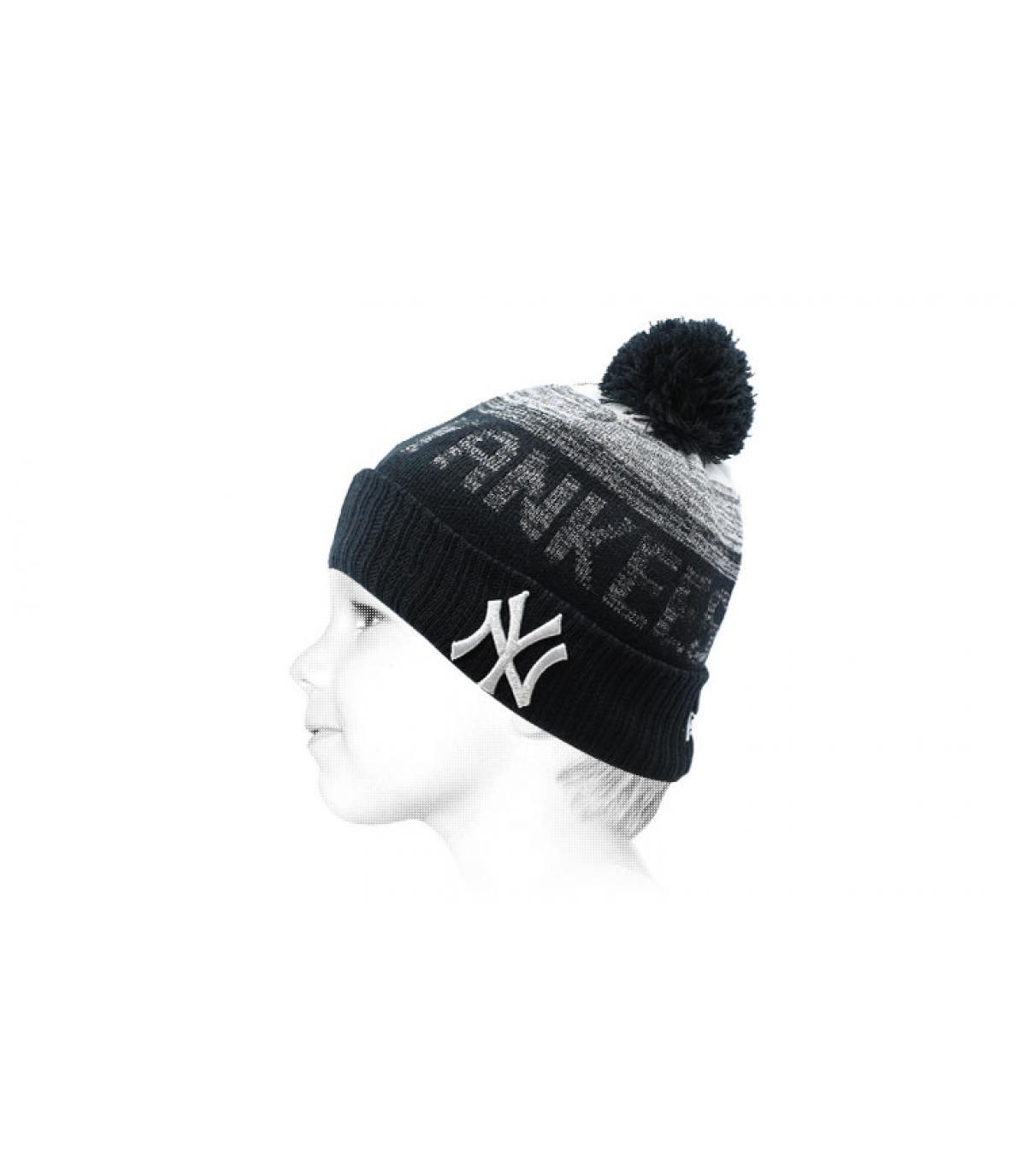 NY kid hat blue