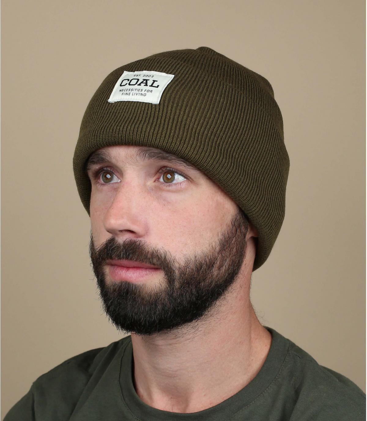 Groene steenkool omkeerbare hoed