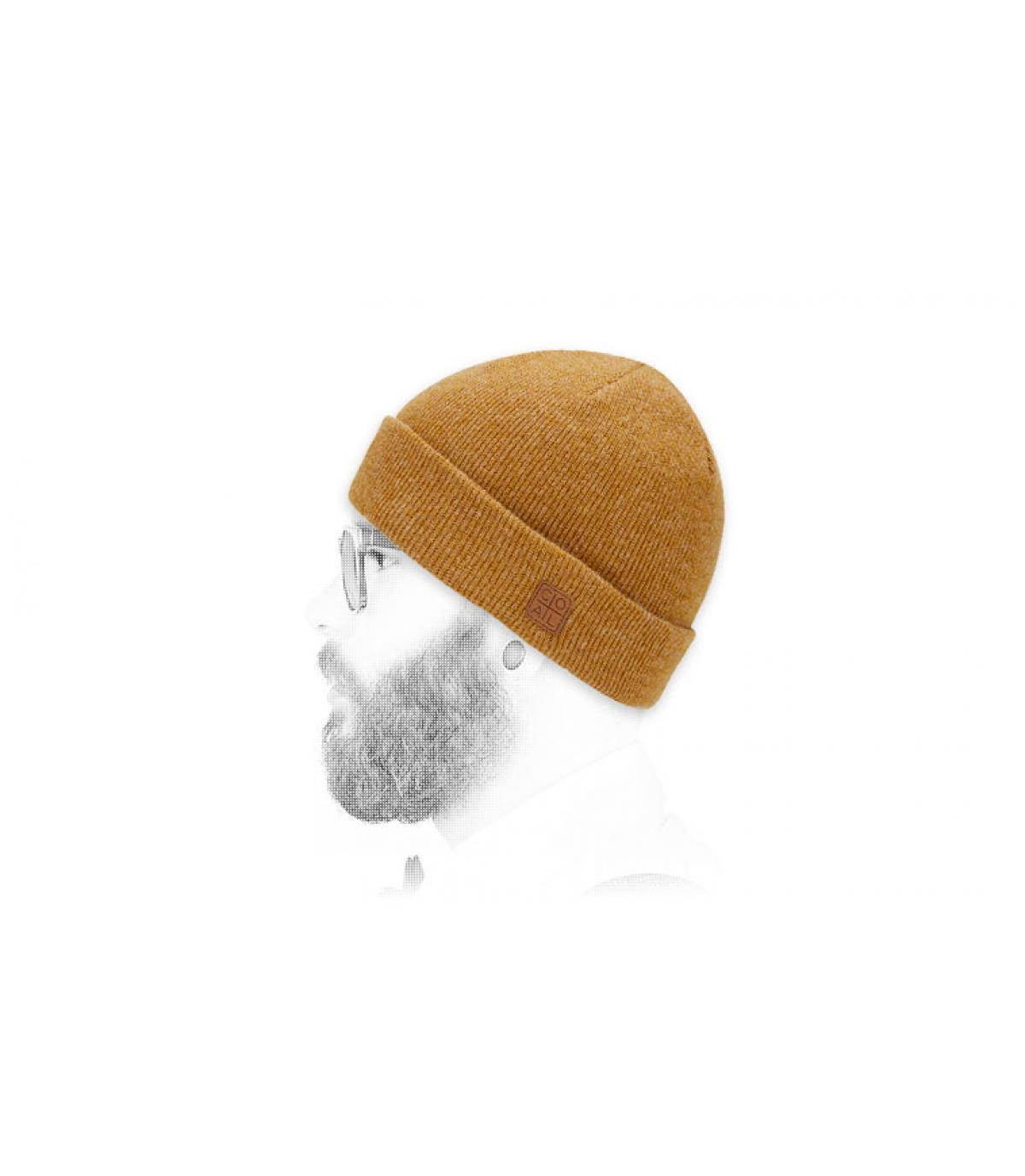Kolen hoed gele revers