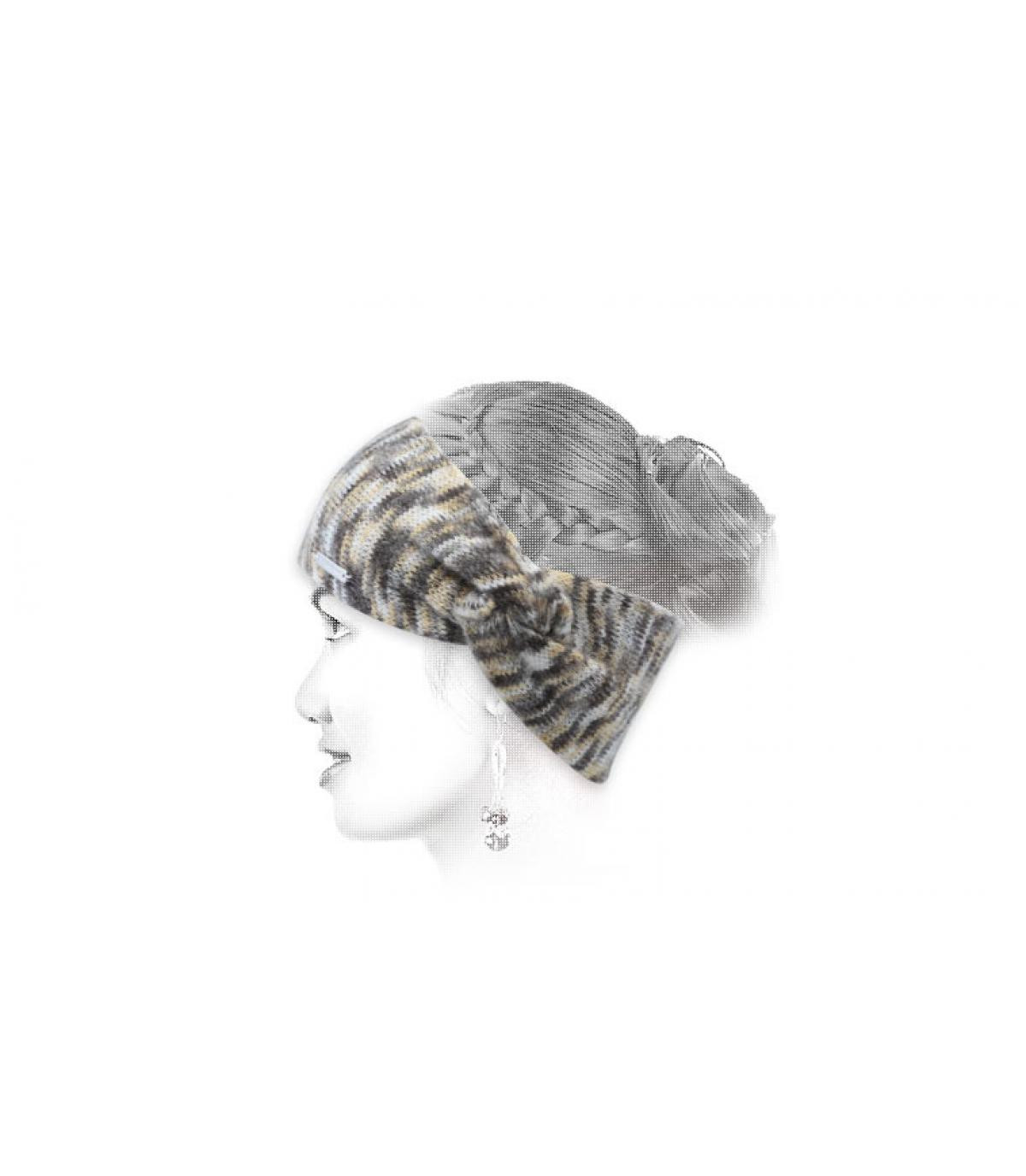 beige Seeberger hoofdband
