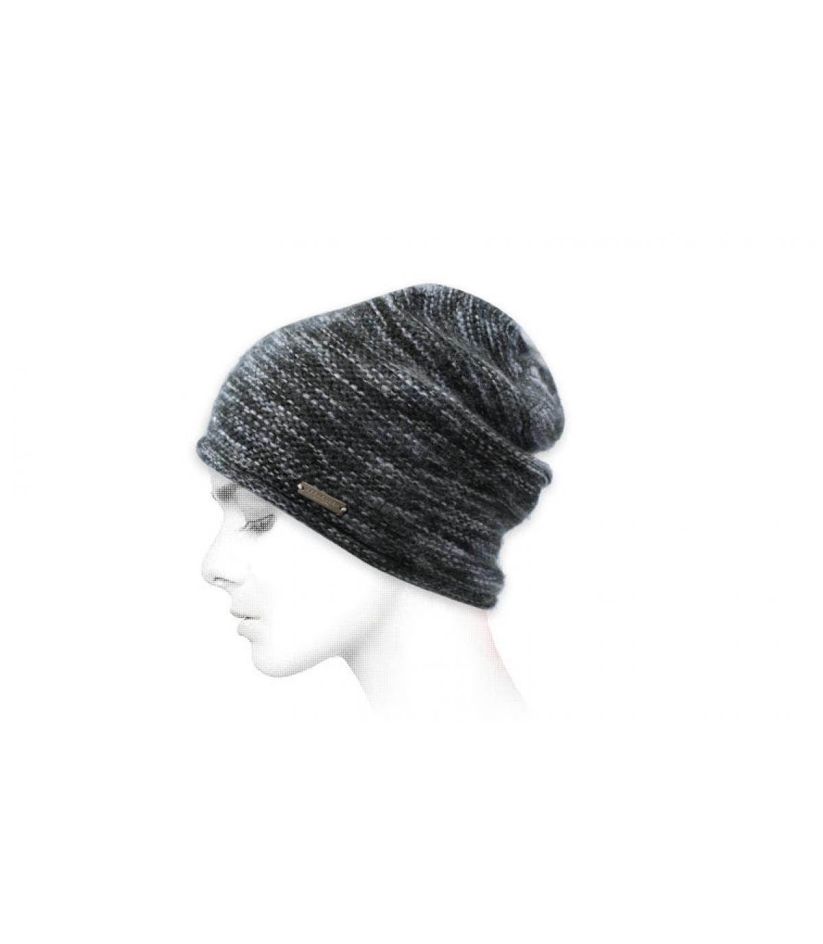 Grijze hoed van Seeberger
