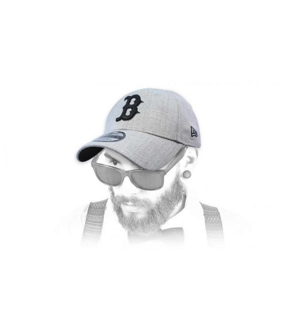kap B zwart grijs