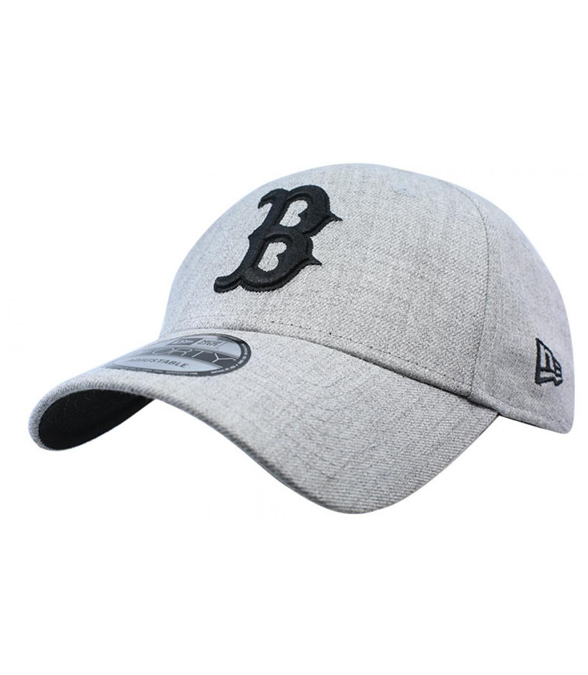 Details Heather Ess Boston 9Forty gray black - afbeeling 2