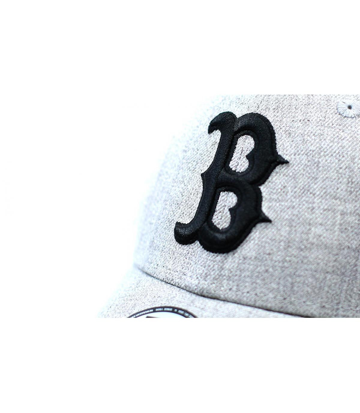 Details Heather Ess Boston 9Forty gray black - afbeeling 3