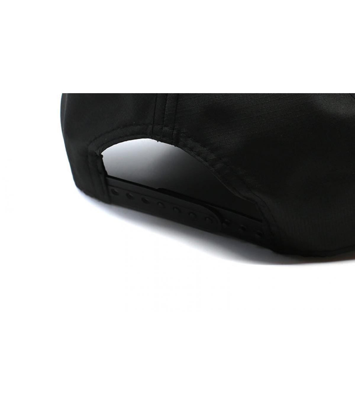 Details Ripstop LA Aframe black maroon - afbeeling 5