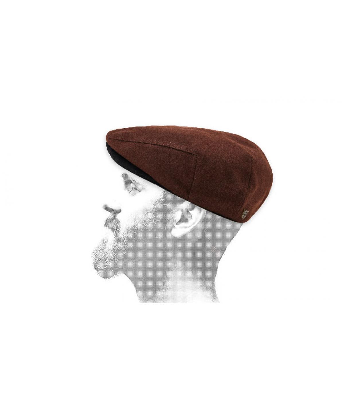 bruine Brixton-baret