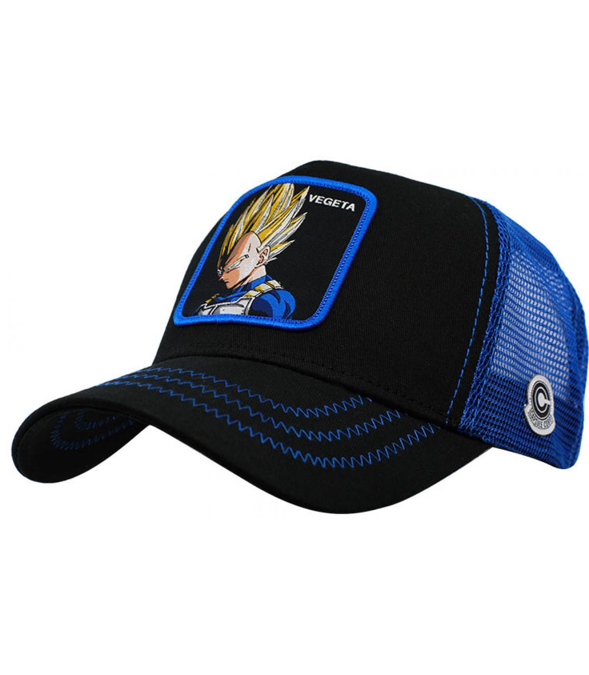 trucker Vegeta zwart blauw