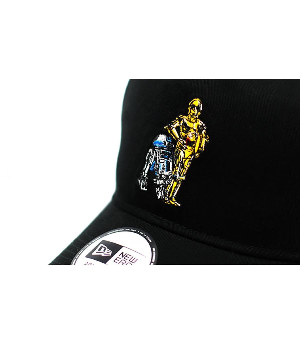 Details Casquette Star Wars Droids 940 A Frame black - afbeeling 3