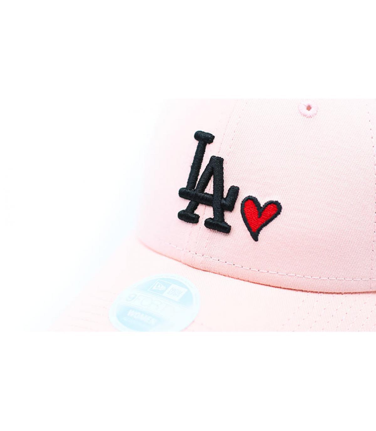 Details Casquette Wmns Heart LA 940 pink - afbeeling 3
