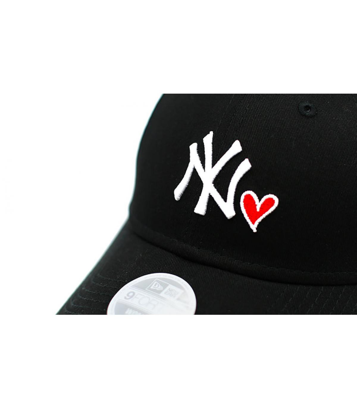 Details Casquette Wmns Heart NY 940 black - afbeeling 3