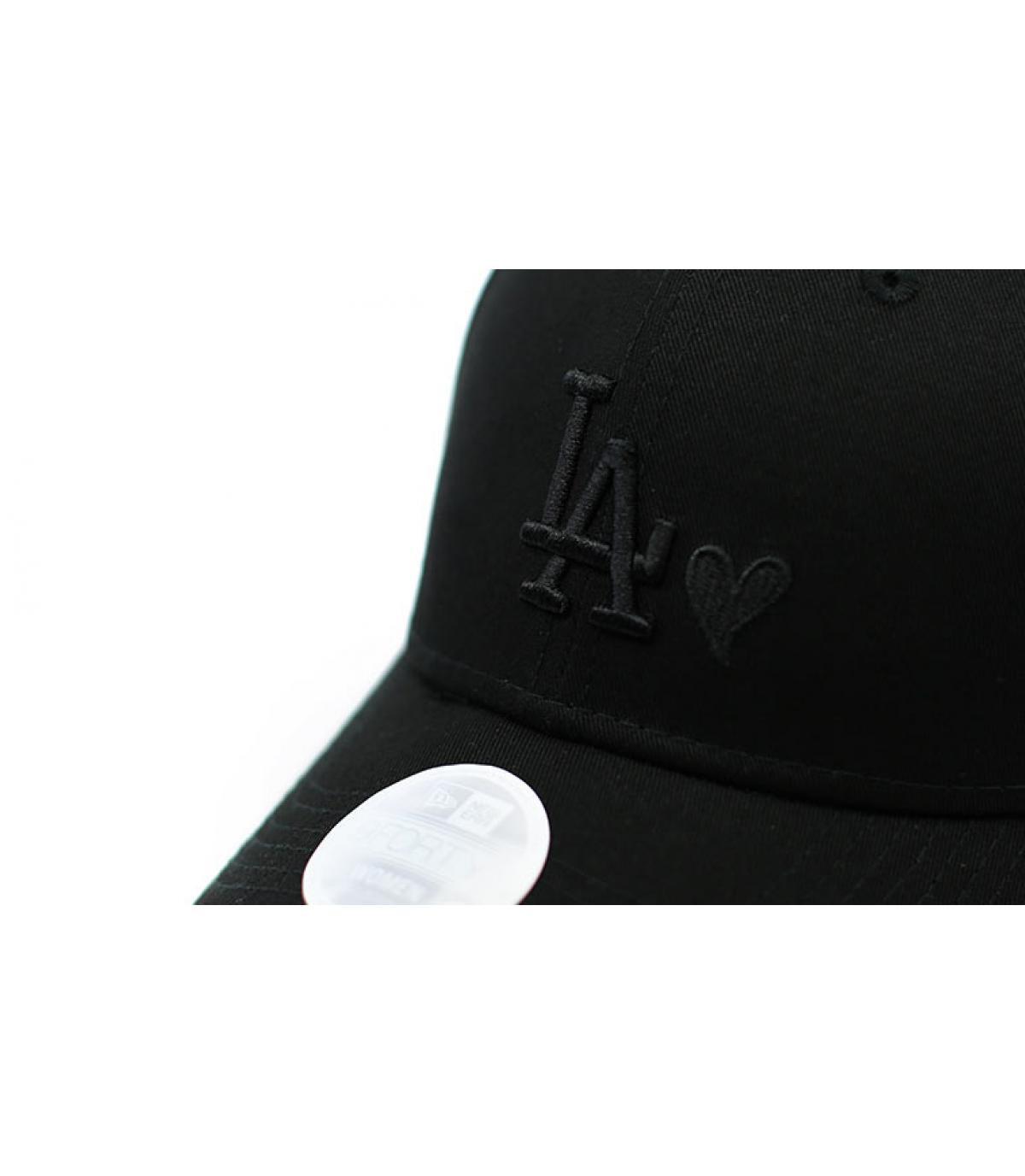 Details Casquette Wmns Heart LA 940 black - afbeeling 3