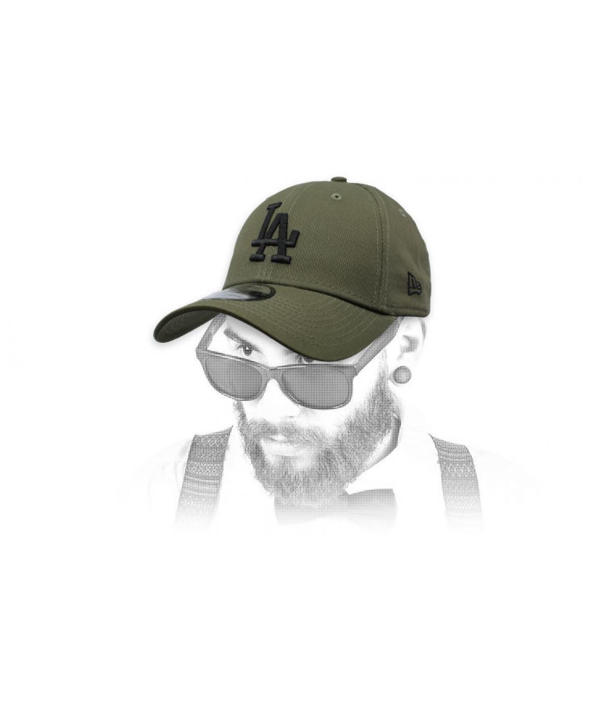 kap LA groen grijs