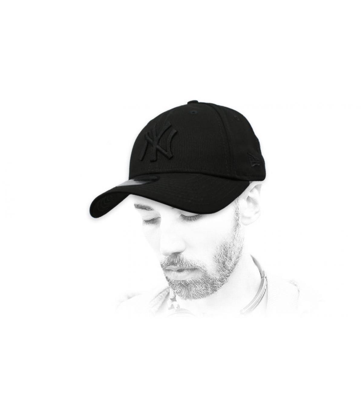 New Era zwarte NY cap