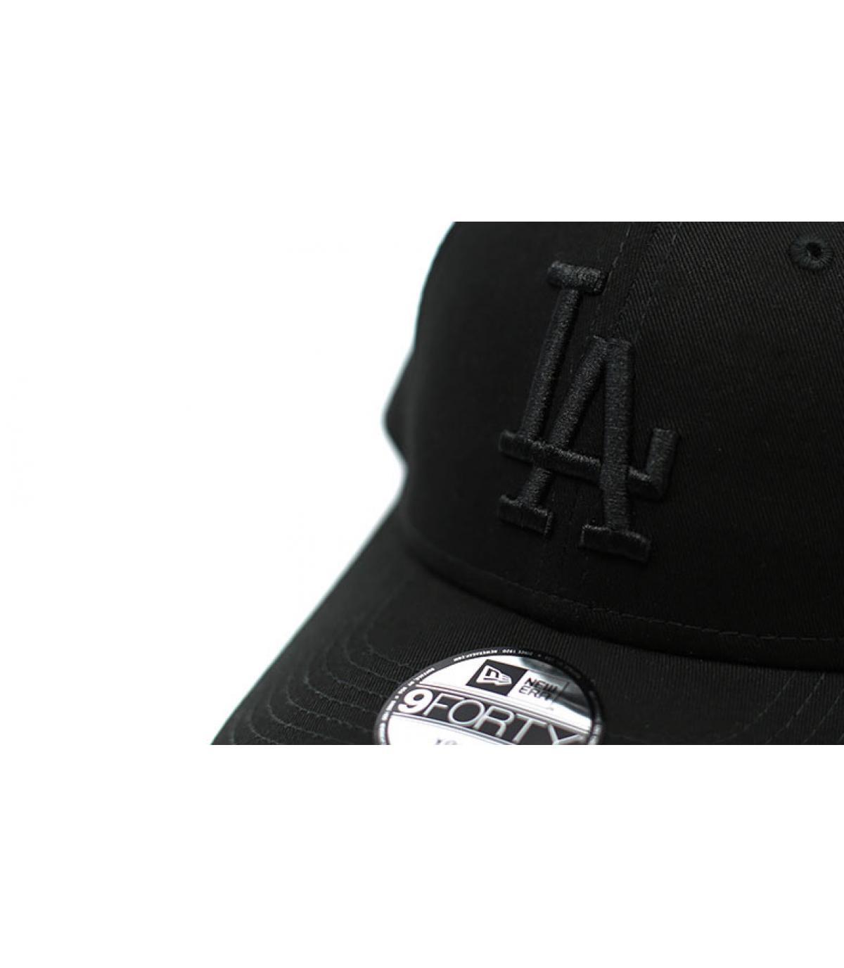Details 9Forty LA Snapback black - afbeeling 3