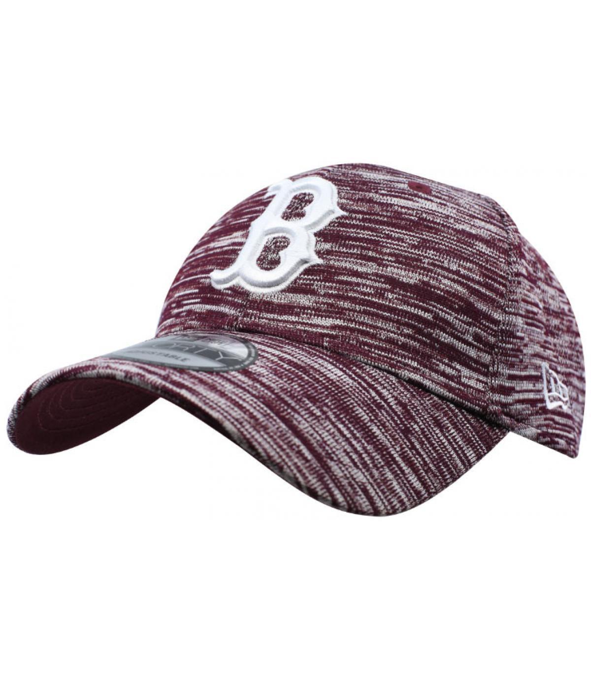Engineered B bordeaux cap