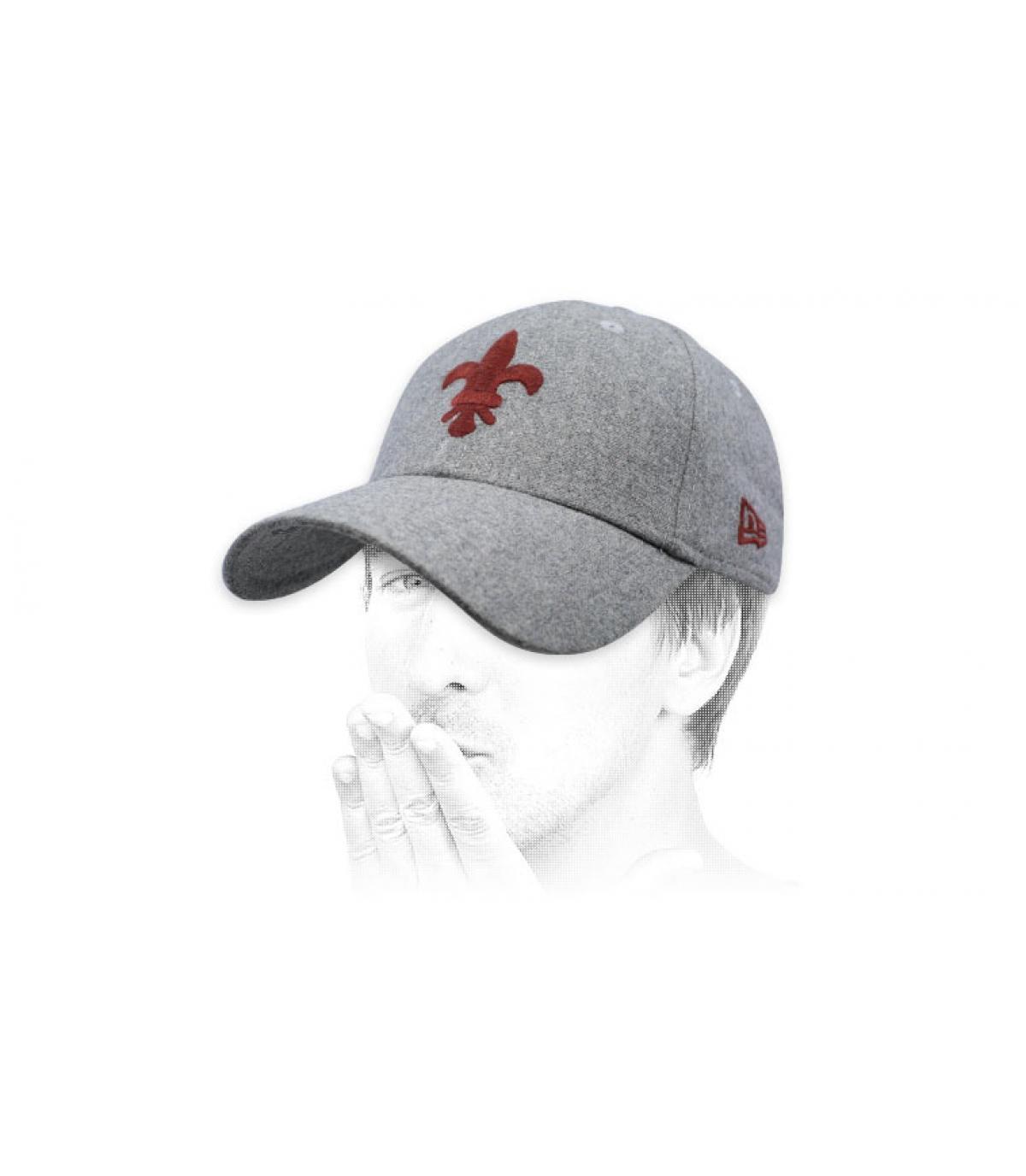 grijze St. Louis cap