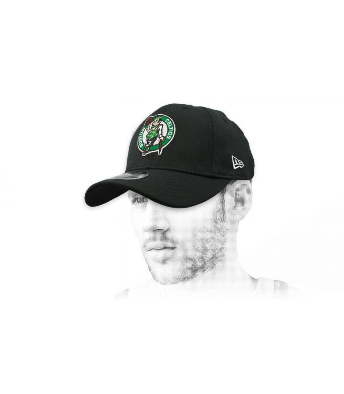 zwarte Celtics-pet