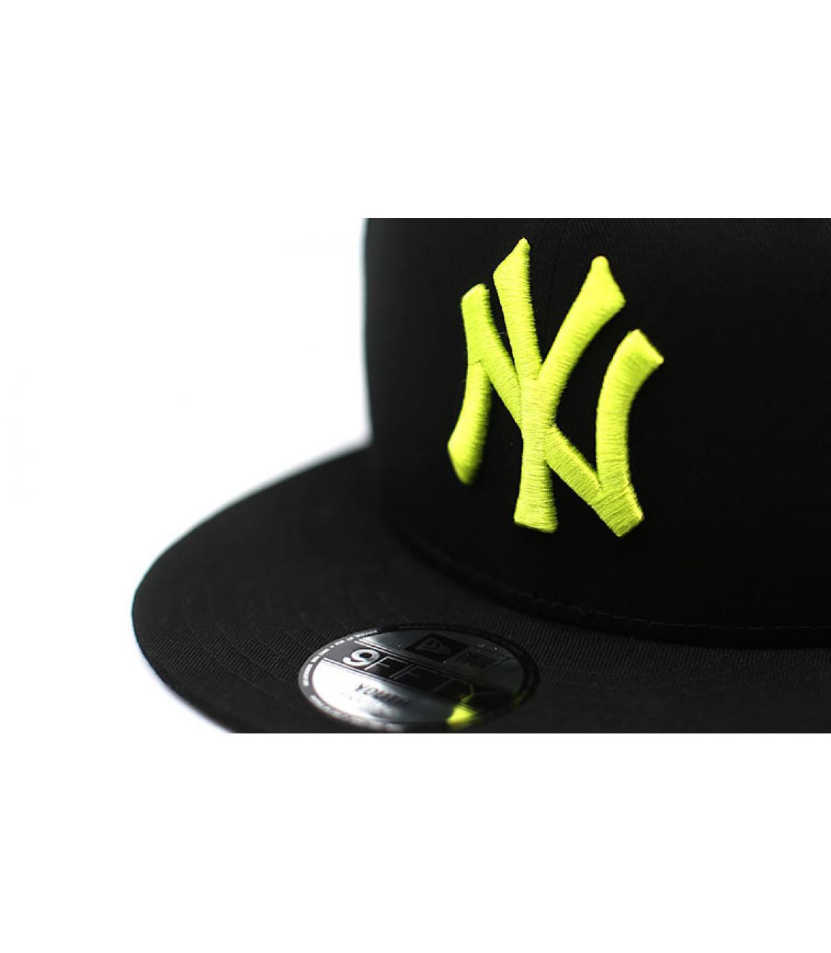 Details League Ess NY 9Fifty black cyber grenn - afbeeling 3
