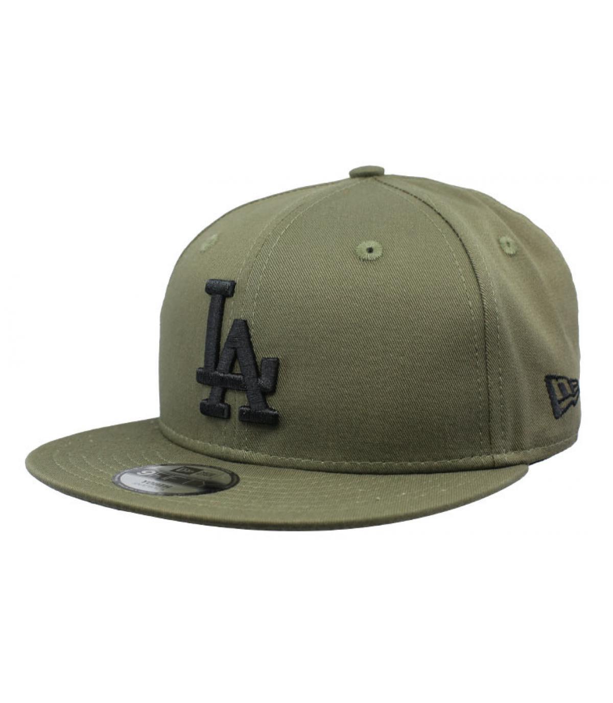 snapback LA zwart groen