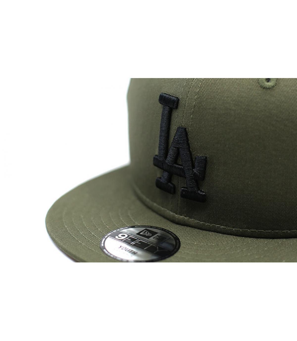 Details League Ess LA 9Fifty black olive black - afbeeling 3