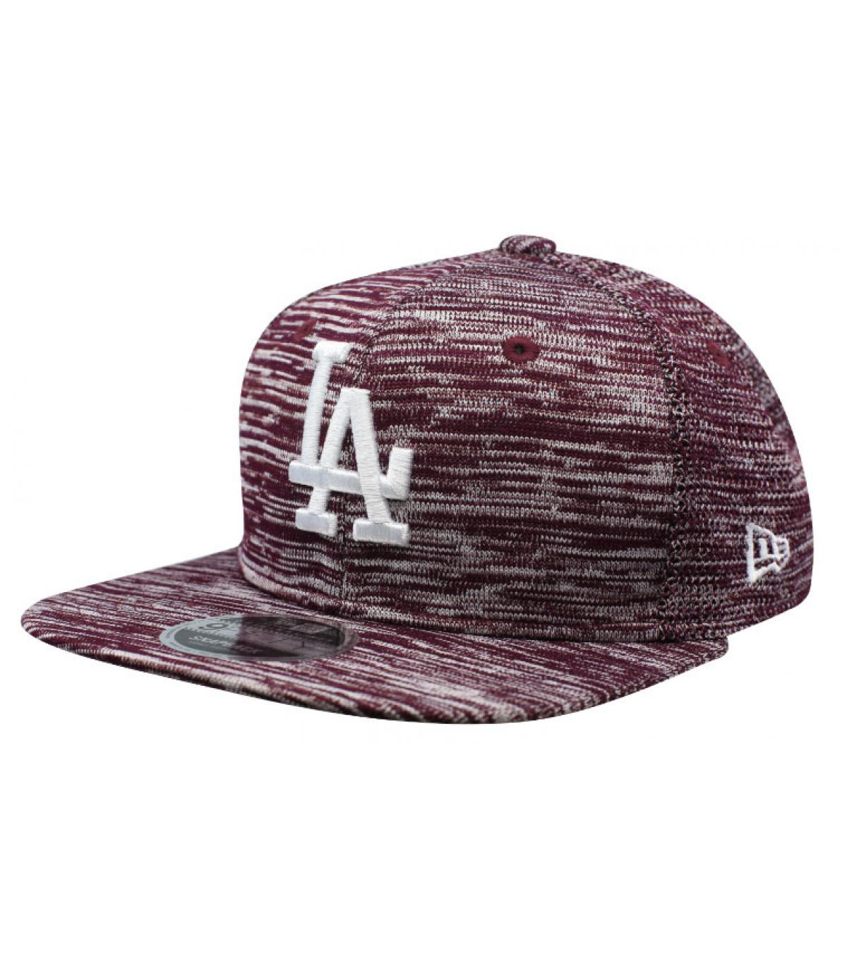 Details Enginnered Fit LA 9Fifty maroon - afbeeling 2