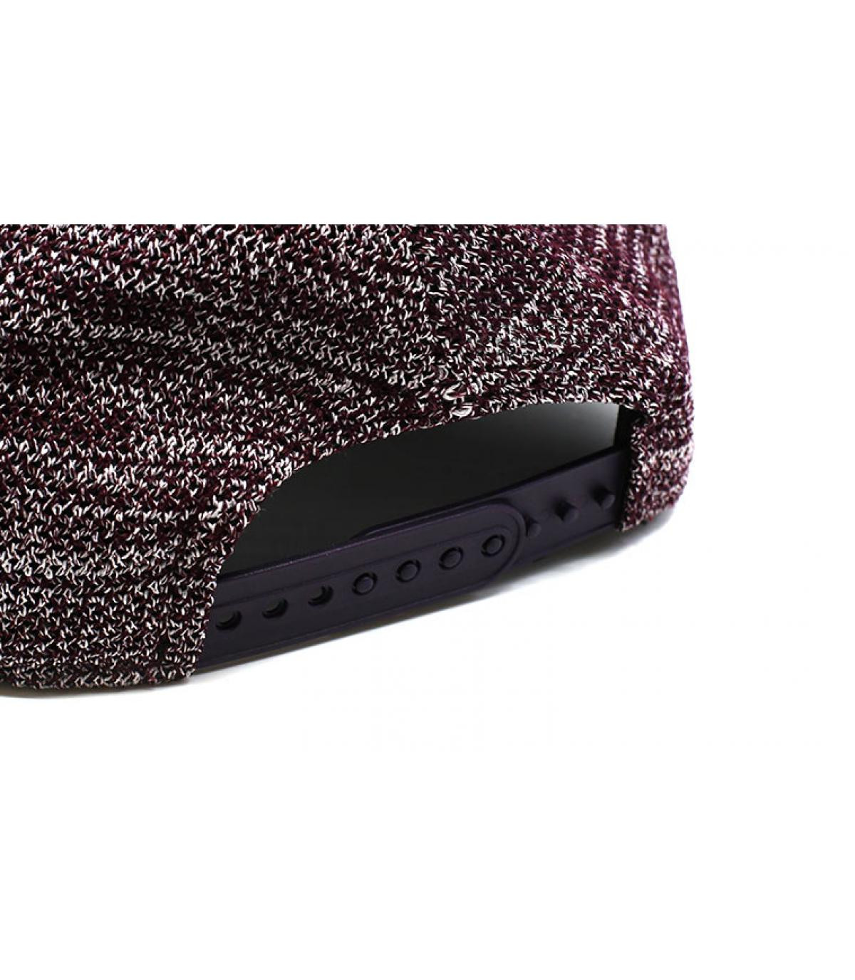 Details Enginnered Fit LA 9Fifty maroon - afbeeling 5